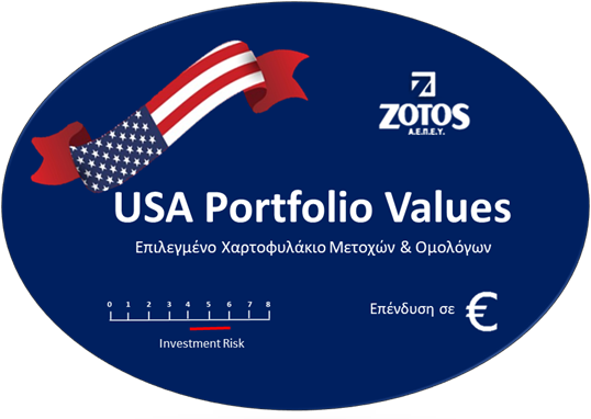 USA Portfolio Values